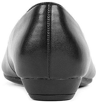 PeepToe 9 & Co.® Tulip Peep-Toe Ballet Flats