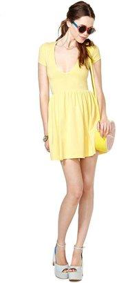 Nasty Gal Endless Summer Dress - Yellow