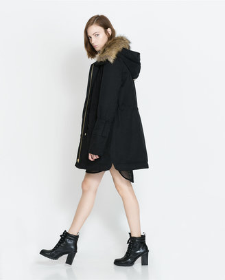 Zara Combination Parka