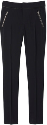 Rebecca Taylor Leather Detailed Pant