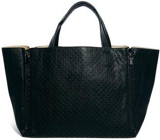 French Connection Spot On Black Shopper Bag