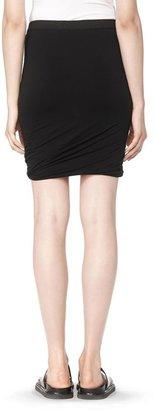 Alexander Wang Classic Micro Modal Spandex Twist Skirt
