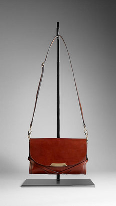 Burberry Small Bridle Leather Crossbody Bag