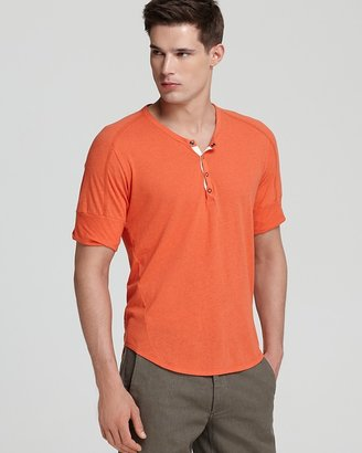 Rogan Ishi Short Sleeve Henley