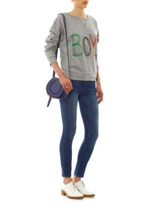 Paige Skyline Ankle Peg mid-rise skinny jeans
