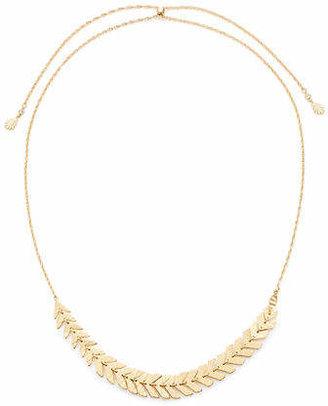 Kate Spade A New Leaf Slider Necklace