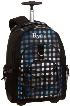 PBteen 4504 Gear-Up Preston Plaid Rolling Backpack