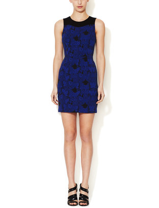Ali Ro Paige Jacquard Sheath Dress