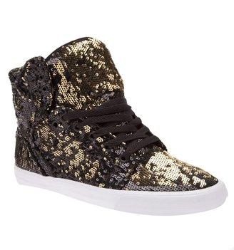 Supra skytop sequin shoe