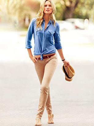 Victoria's Secret Siren Skinny Jean in Polka Dot