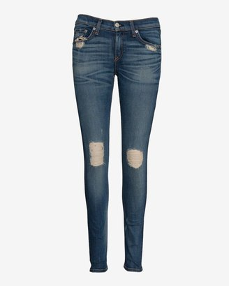 Rag and Bone Exclusive Midrise Destroyed Skinny: Chester