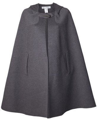 Oscar de la Renta long cape coat