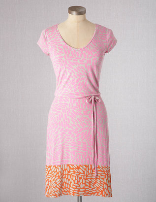 Boden Print Block Jersey Dress