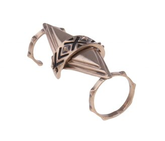 Pamela Love Articulated Pyramid Ring