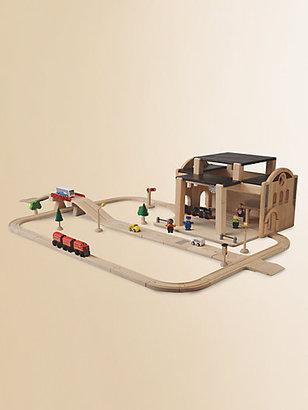 Plan Toys Road & Railway Set