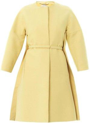 Stella McCartney Collarless button-through coat