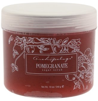 Archipelago Botanicals Pomegranate Sugar Scrub (Red & White) - Beauty