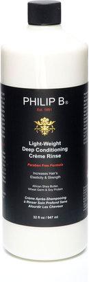 Philip B Light-Weight Deep Conditioning Creme Rinse—Paraben Free Formula, 32 oz.