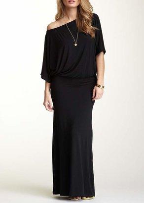 Couture Go Dolman Sleeve Maxi Dress