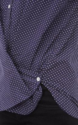 Steven Alan Polka Dot-Print Shirt
