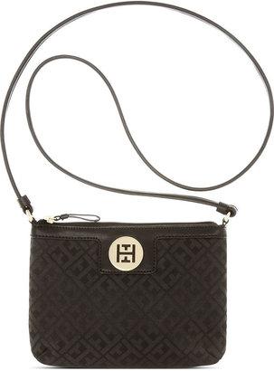 Tommy Hilfiger Handbag, Signature Jacquard East West Crossbody