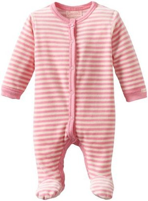 Coccoli Baby-Girls Newborn Jimmy'S Laundry Classic Velour Footie