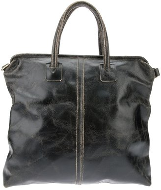 Jas M.B. Distressed shopper bag