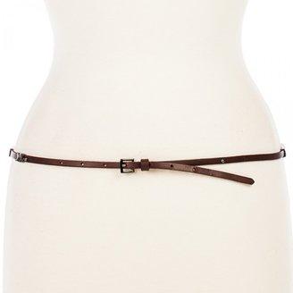 Linea Pelle Hayden Skinny Hip Belt with Chevron Sliders