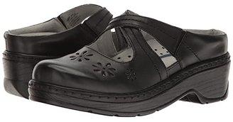 Klogs Footwear Carolina (Black Smooth) Women's Clog Shoes