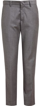 Jil Sander Classic Houndstooth Wool Trousers