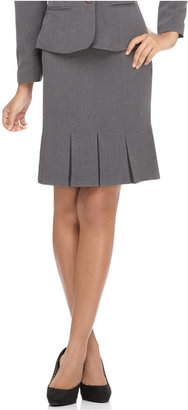 Amy Byer Petite Pleated Skirt