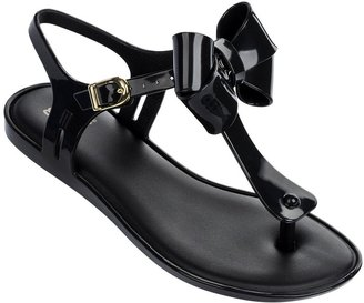 MINI MELISSA - Solar Bow - Black $65 thestylecure.com
