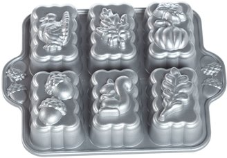 Nordicware 6-Cup Harvest Mini Loaf Pan
