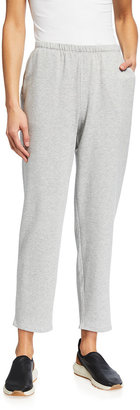 Eileen Fisher Fleece Tapered Ankle Pants