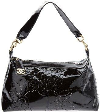 Chanel studded leather bag