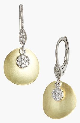 Women's Meirat 'Charmed' Diamond Drop Earrings $550 thestylecure.com