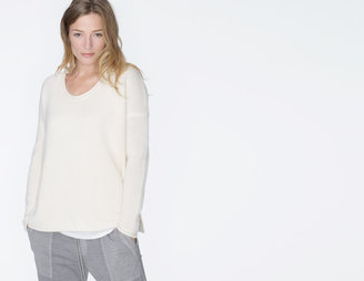 James Perse Cashmere Solid Sweater