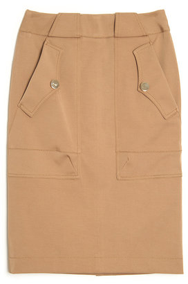 Altuzarra Lion Safari Pencil Skirt