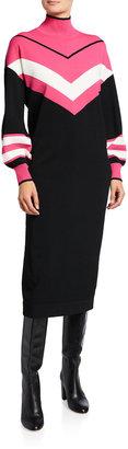 Tanya Taylor Ivanna Knit Stripe Dress