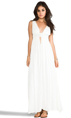 Indah Anjeli Empire Maxi Dress