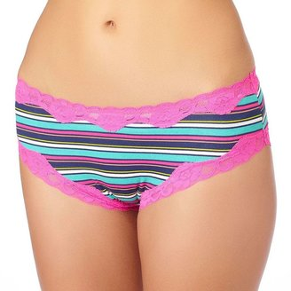 St. eve dot lace-trim hipster - juniors