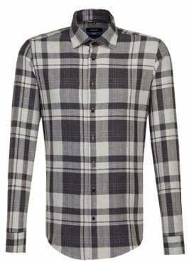 Seidensticker Business Mountaineering Plaid Button-Down Shirt