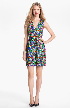 Kate Spade 'mira' Cotton & Silk Sheath Dress