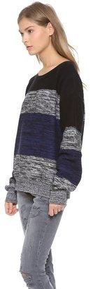 LnA Multi Stripe Sweater