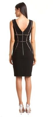 JS Collections Sleeveless Geometric Dress
