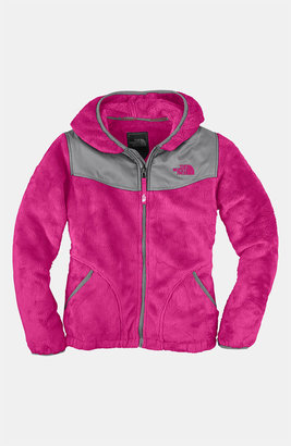 The North Face 'Oso' Hooded Fleece Jacket (Little Girls)