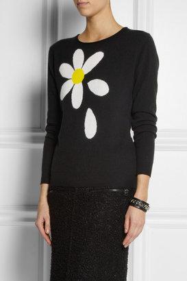Moschino Cheap & Chic Moschino Cheap and Chic Daisy-intarsia cashmere sweater