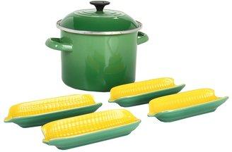 Le Creuset Sweet Corn Set (Fennel) Individual Pieces Cookware