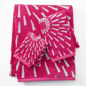 Apt. 9 starburst reversible bath towels