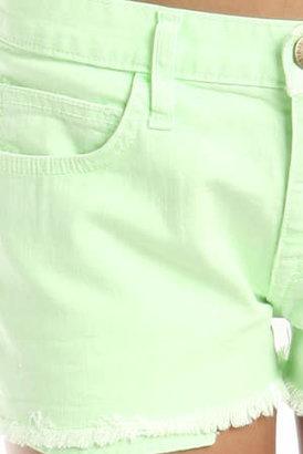 Current/Elliott The Boyfriend Short in Lime Green